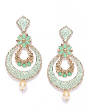 Full set earring with pendent