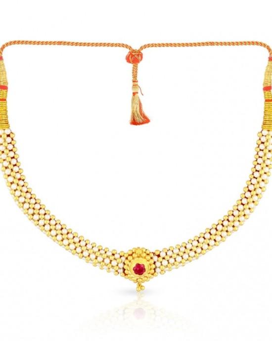 neckless golden